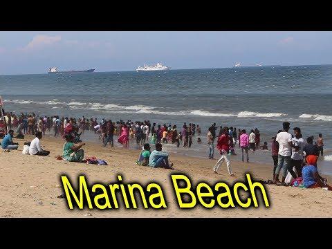 Marina Beach - World Famous Beach at Chennai | FILM CITY