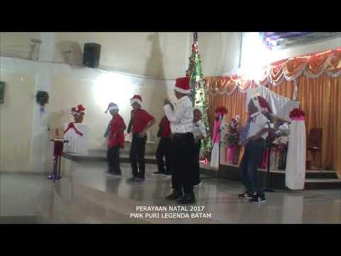 Perayaan Natal 2017  PWK Puri Legenda Batam (Part 2)