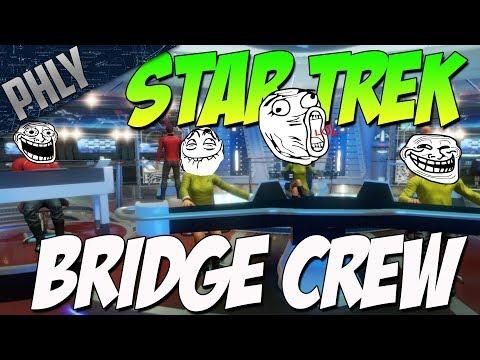 Star Trek BRIDGE CREW VR – Funniest VR Experience YET (Star Trek : Bridge Crew Gameplay)