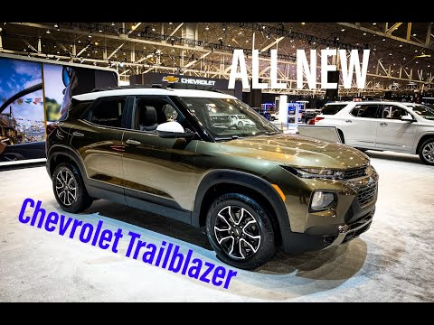 ALL NEW 2021 Chevy TrailBlazer - FULL Walk Around And Review