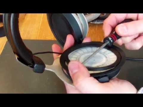 Beyerdynamic Ohrpolsterwechsel DT551 /770 /880 /990 (Change the ear pads) [HD]