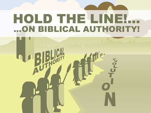 Pastor Joe Boot - Hold the Line on Biblical Authority