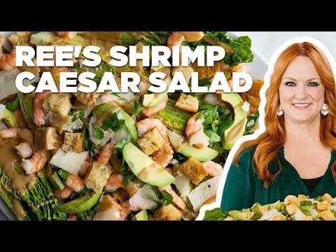 The Pioneer Woman Makes A Shrimp Caesar Salad | Food Network