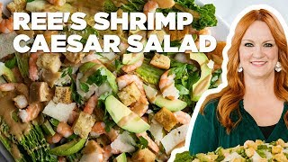 The Pioneer Woman Makes a Shrimp Caesar Salad | Food Network