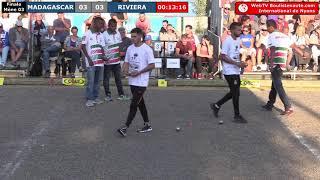 International à pétanque de Nyons 2018 : Finale BONETTO vs MADAGASCAR