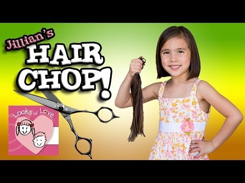 Jillian's HAIR CHOP - Donating to LOCKS of LOVE