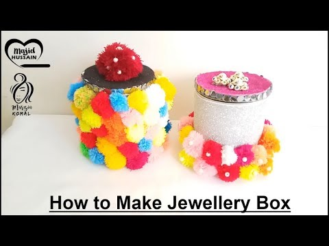 How to Make Jewellery Box | DIY Art and Crafts Decoration for girls