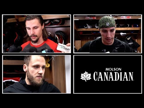 Nov 2: Sens vs. Red Wings - Pre-game Media