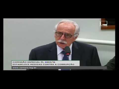 PL 4850/16 - ESTABELECE MEDIDAS CONTRA A CORRUPÇÃO - Reunião Deliberativa - 21/09/2016 - 09:45