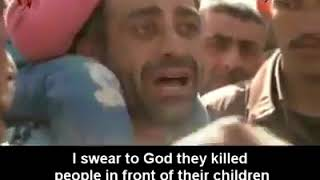Syria: Refugees from Eastern Ghouta tell the truth of horrible life under gunmen