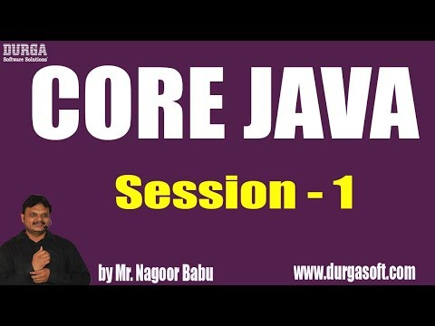core-java-tutorials-||-session---1-||-by-mr.-nagoor-babu-on-10-05-2019