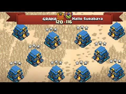 ELITE WAR 😭Best 3 Star War Attack Strategy 2019 TH12 | How To 3 Star In Clan War - Clash Of Clans