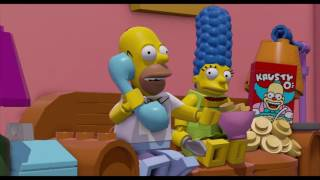 LEGO DIMENSIONS - I Simpsons dlc - Filmato iniziale in italiano