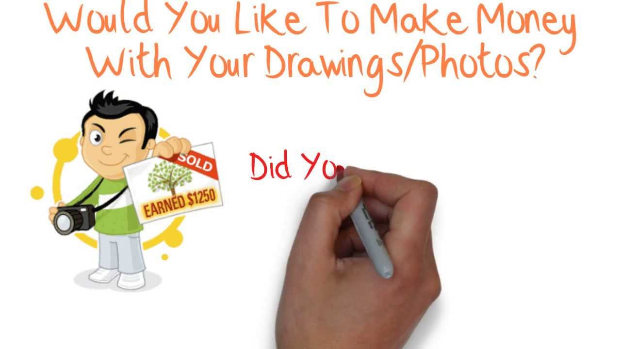 Learn How To Draw: How To Make Money Online Selling Pictures and ...