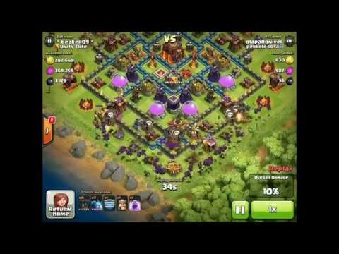 Clash of Clans: Defending Against Balloons & Minions! - Base Design Tips