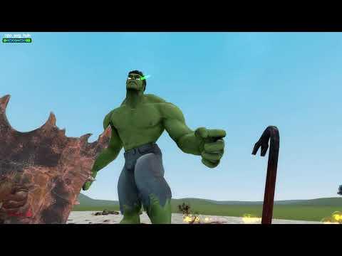 Hulk Vs Everything (Gmod) |