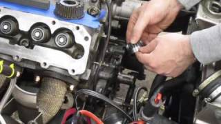 DIY - how to change front main seal on a Porsche 944