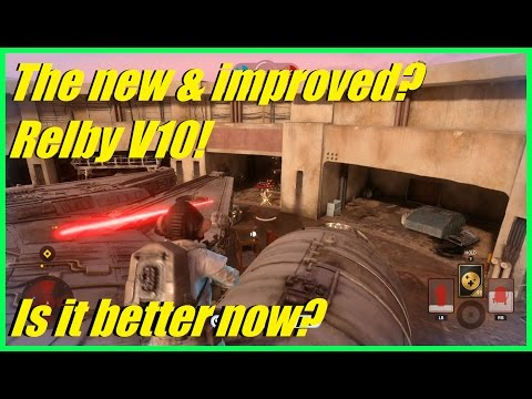 Star Wars Battlefront - The new & improved? Relby V10 Rifle! | Did the Buff help it? (BLAST)