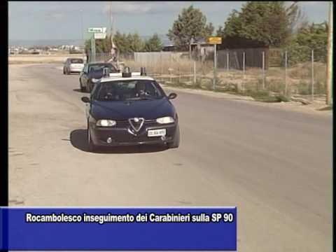 Rocambolesco Inseguimento Dei Carabinieri Sulla Sp90 Youtube