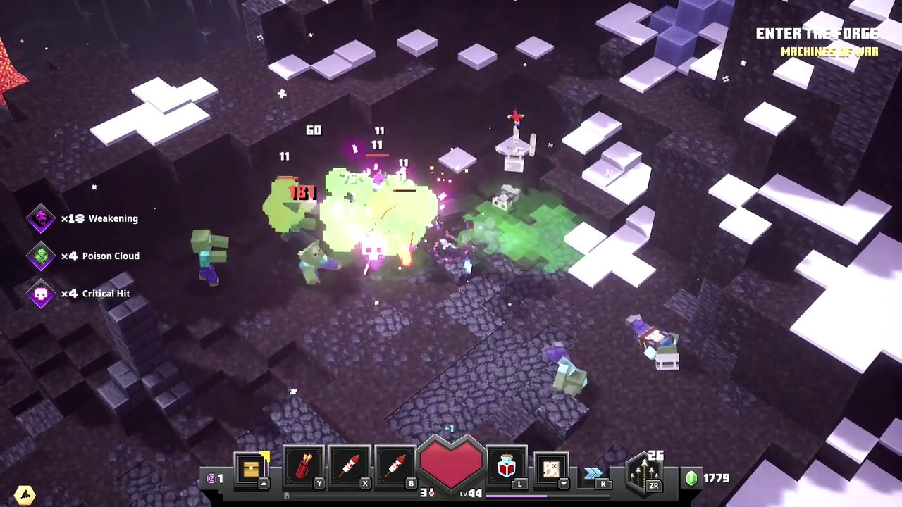 Minecraft Dungeons #12 gameplay nintendo switch Adventure mode