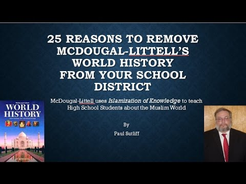 25 Reasons To Remove McDougal-Littell's World History