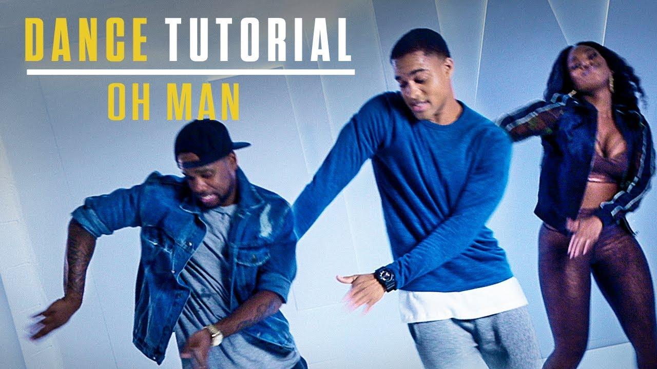 Blue Water High Cast step up: high water | dance tutorial | oh man
