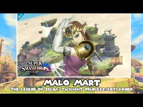 Music to Smash to - Day 77 - Malo Mart (The Legend of Zelda: Twilight Princess)