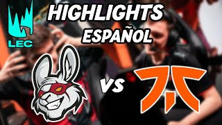 LEC Jornada 1 2021 | MSF vs FNC | Misfits Gaming vs Fnatic highlights | Español