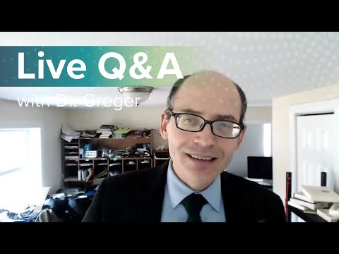 Live Q&A with Dr. Greger of NutritionFacts.org on February 15th at 12:30 pm ET.