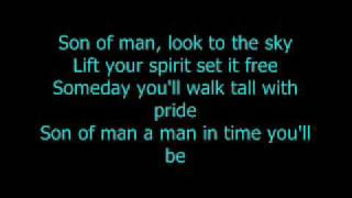 Repeat youtube video Phil Collins - Son Of Man with Lyrics