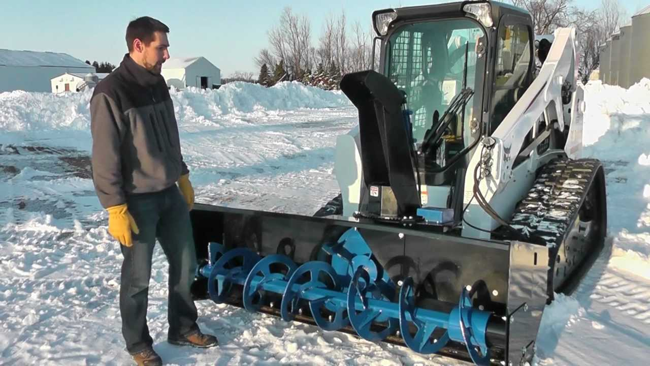 Skid Steer Snow Blower For Sale | Skid Pro Attachments