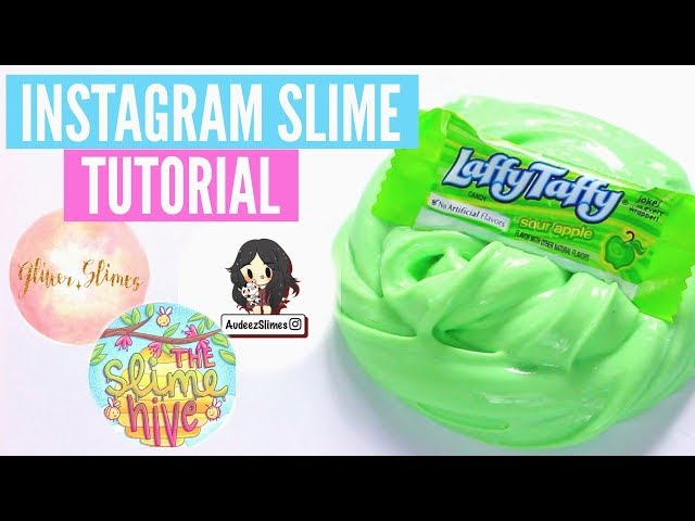FAMOUS INSTAGRAM SLIME Recipes & Tutorials // How To Make AudeezSlimes, Glitter.Slimes Slimes & MORE