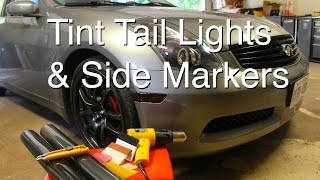 How to Properly Tint Tail Lights & Side Markers (Vinyl Wrap)