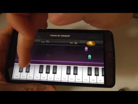 Learn To Play Piano On Your Smartphone (Basic Tutorial, Android)