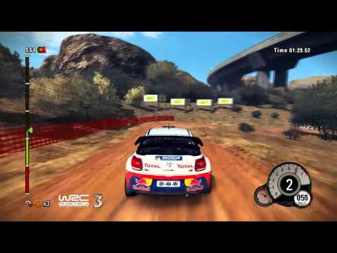 Portugal Track - WRC 3 2012 Gameplay Video