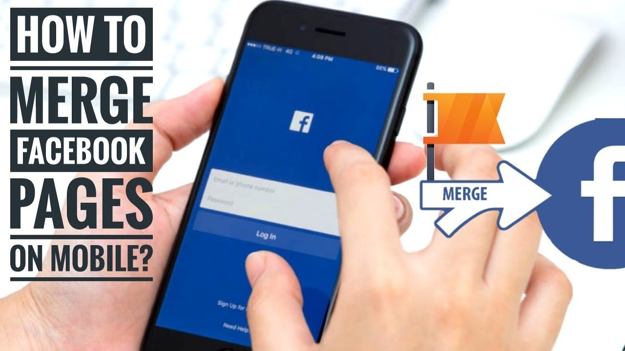 How to MERGE facebook pages on mobile? | Facebook update ...