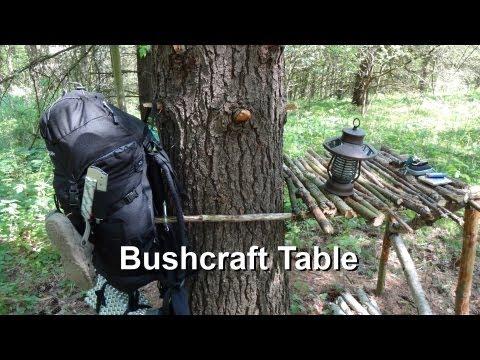 Bushcraft Table