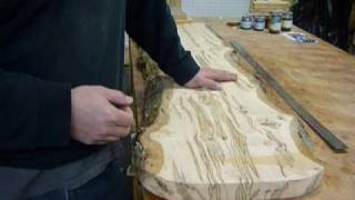 Making An Inlayed Sitting Bench Pt.1