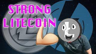 Litecoin Showing Signs Of Upward Strength & Litecoin Cash Fork