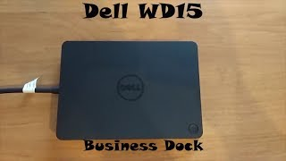 Dell WD15 USB type-c dock - Part 1 (review) (Обзор на русском)