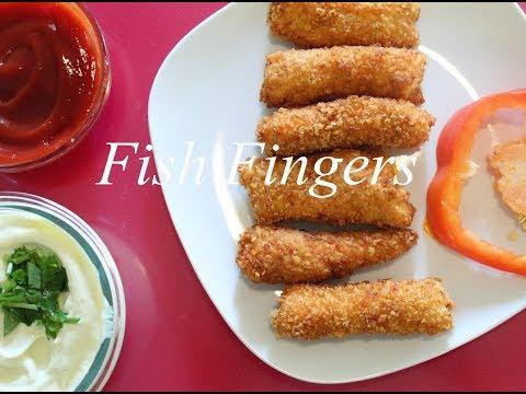 Fish Fingers Recipe   Quick & Easy Fish Fingers   Salmon Fish Fingers   फिश फिंगर्स रेसिपी