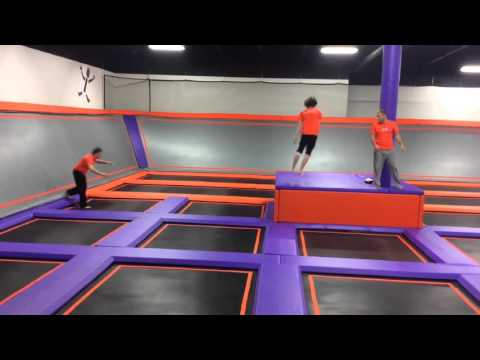 Tricking at Altitude Trampoline Park
