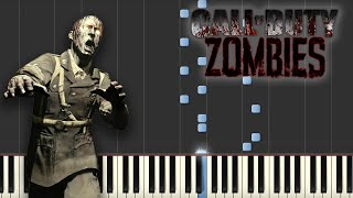Damned - Call of Duty Zombies (Piano Tutorial)