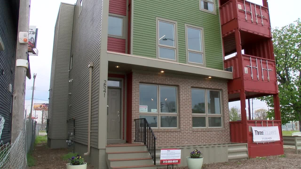 more shipping container homes to be built in detroit - youtube