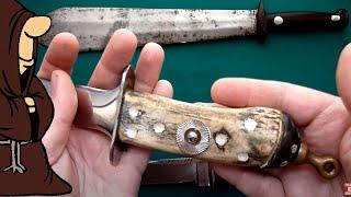Ножи СССР. Самоделки того времени