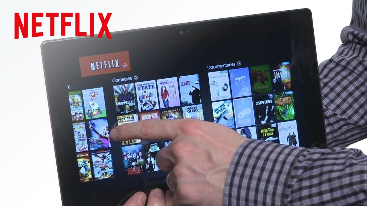 First Look: Netflix on Windows 8