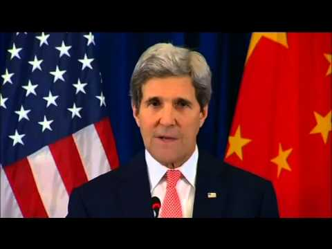 John Kerry remarks on North Korea in Beijing