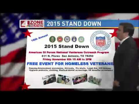GI FORUM 2015 STAND DOWN ON NEWS4 WEATHER
