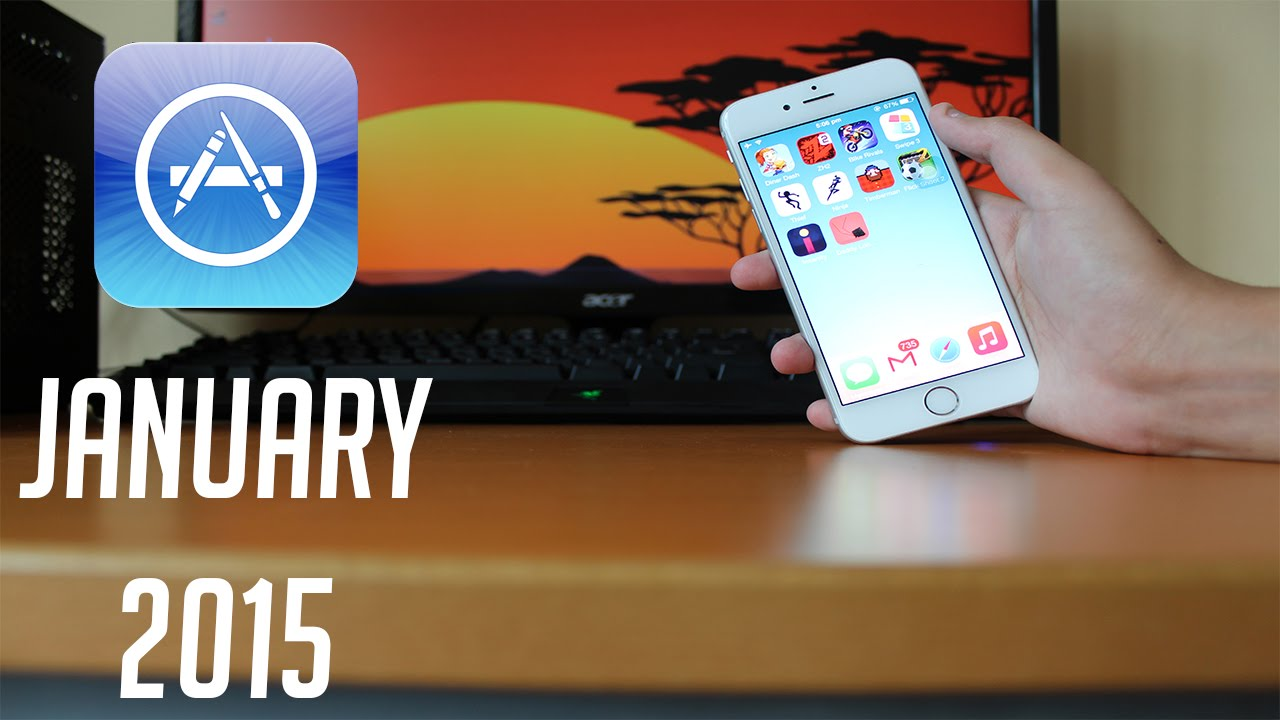 Top 10 Best Free Apps/Games for iPhone. iPod Touch (January 2015) - YouTube