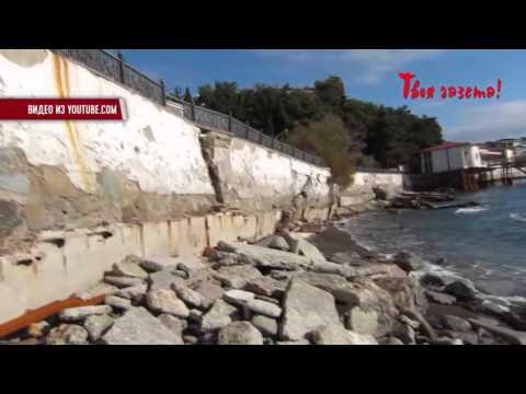 В Партените в два раза подняли  плату за проход на пляж через санаторий